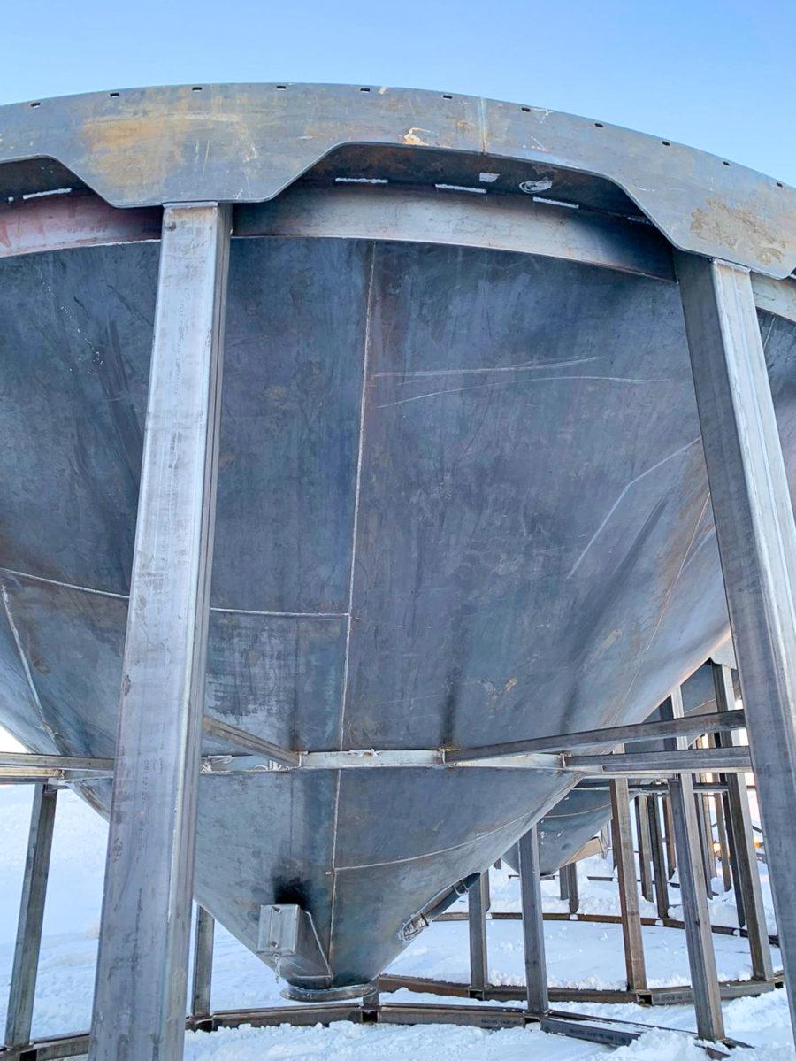 Hopper - Grain Bin - Custom Fab